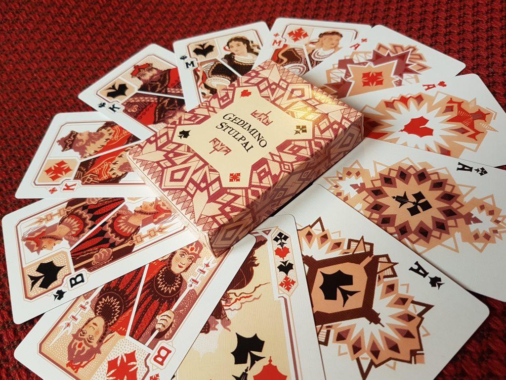 gedimino stulpai cards